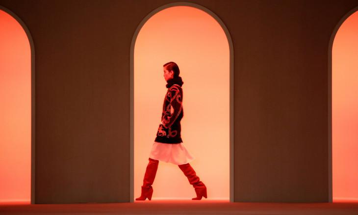 Balmain collection show at Paris Fashion Week
