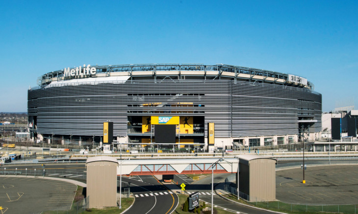 Empty MetLife Stadium is seen following actions taken by NJ Governor Murphy to limit the spread of the coronavirus disease (COVID-19), in East Rutherford