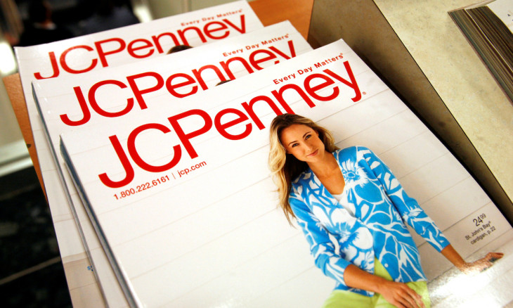 FILE PHOTO: The Spring catalog is on display at the J.C. Penney store in Westminster