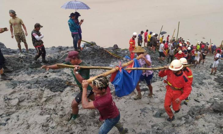 Myanmar jade mine collapse