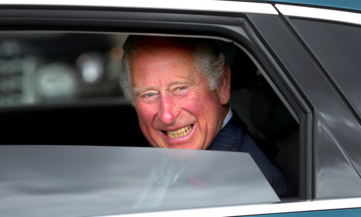 Britain's Prince Charles tested positive for the virus