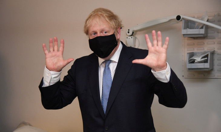 British Prime Minister Boris Johnson was admitted to hospital on April 5 after suffering symptoms of COVID-19