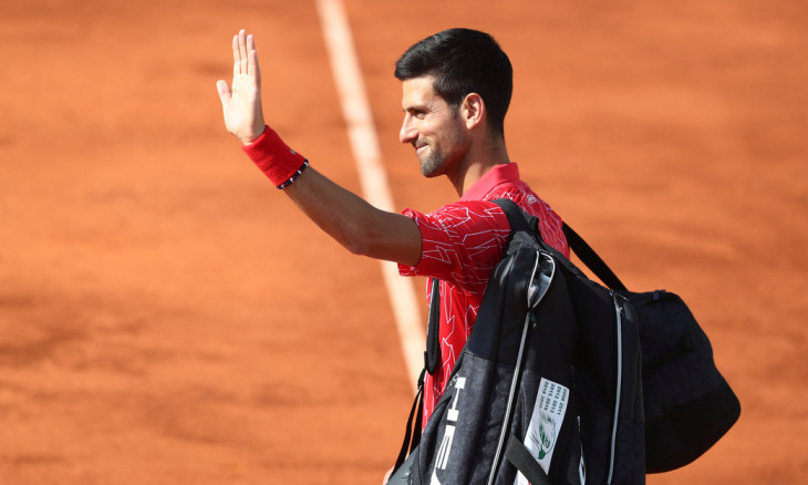 Novak Djokovic, the top-ranked men's tennis player, tested positive for the virus on June 23.