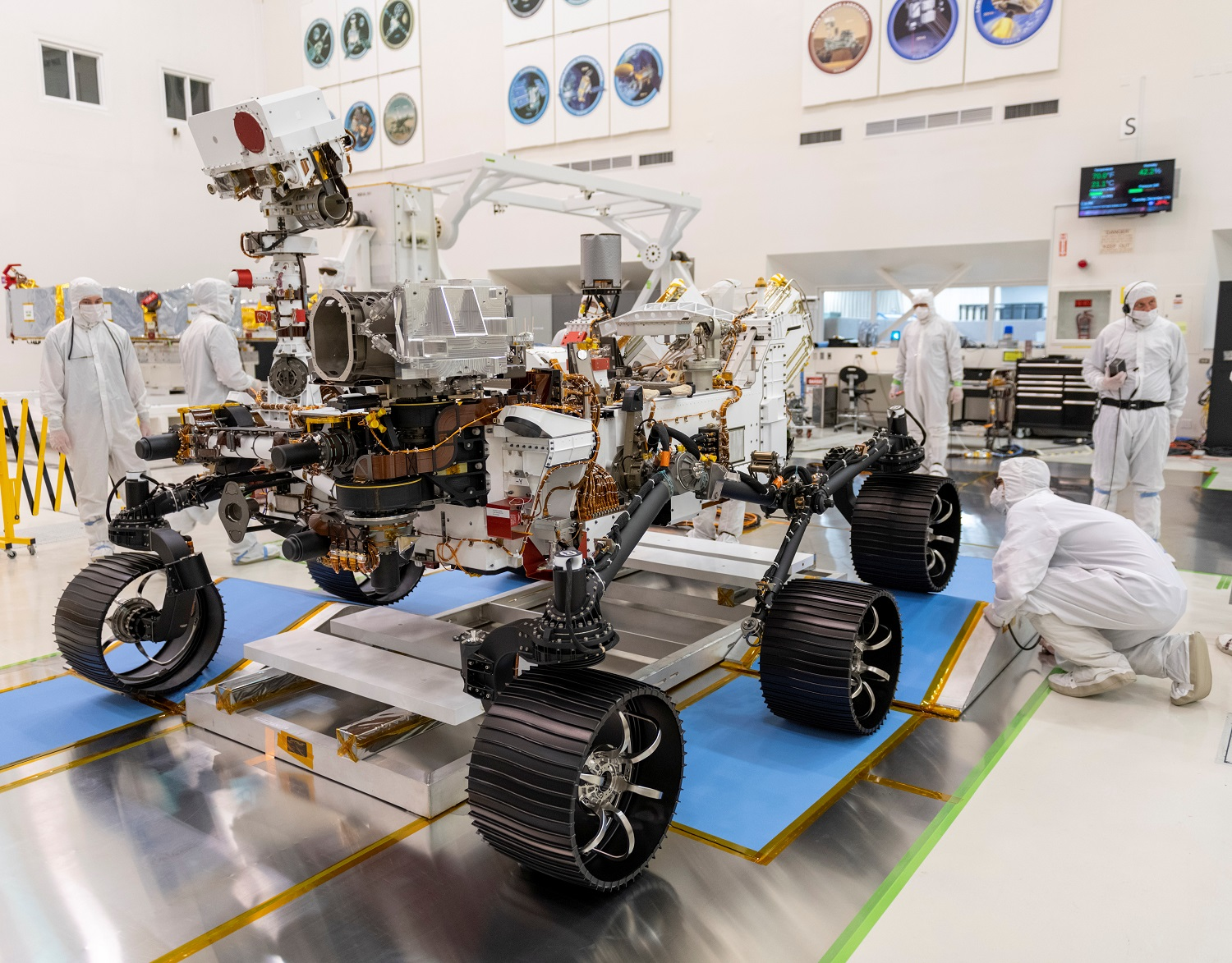 Mars 2020: Perseverance Rover Completes Launch Readiness Test