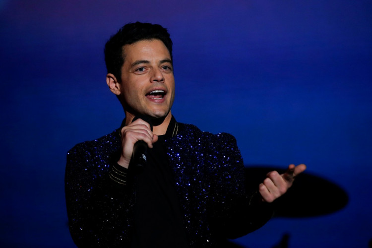 Rami Malek speaks onstage at the 2019 Global Citizen Festival at Central Park in New York, U.S., September 28, 2019.
