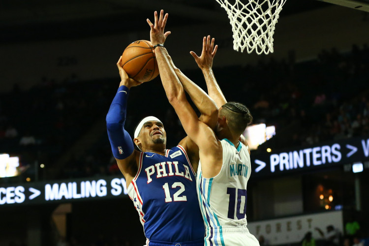NBA: Preseason-Philadelphia 76ers at Charlotte Hornets