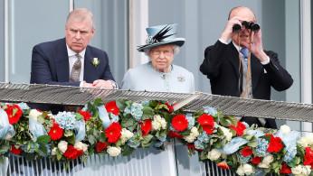 Prince Philip, Queen Elizabeth, Prince Andrew