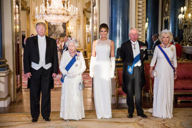 FILE PHOTO: U.S. President Donald Trump visits Britain