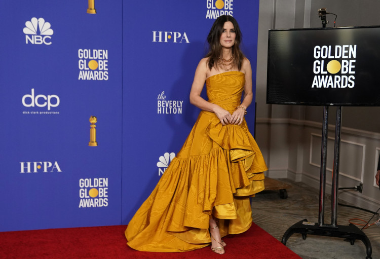 77th Golden Globe Awards - Photo Room - Beverly Hills, California, U.S., January 5, 2020 - Sandra Bullock poses backstage. REUTERS/Mike Blake