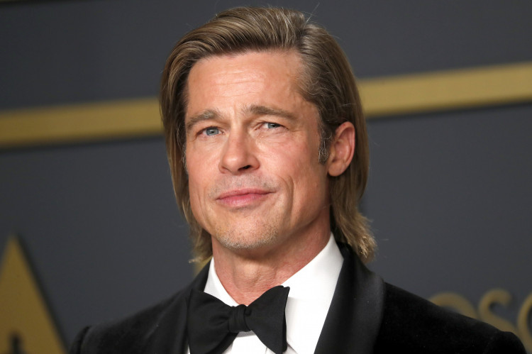 Best Supporting Actor Brad Pitt poses in the photo room during the 92nd Academy Awards in Hollywood, Los Angeles, California, U.S., February 9, 2020. REUTERS/Lucas Jackson