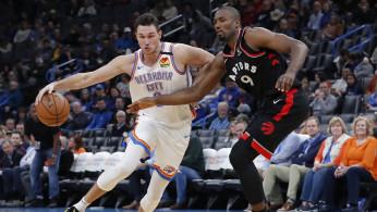 NBA: Toronto Raptors at Oklahoma City Thunder