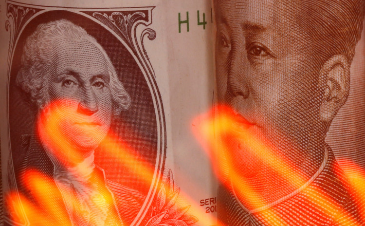 Chinese Yuan against US dollar