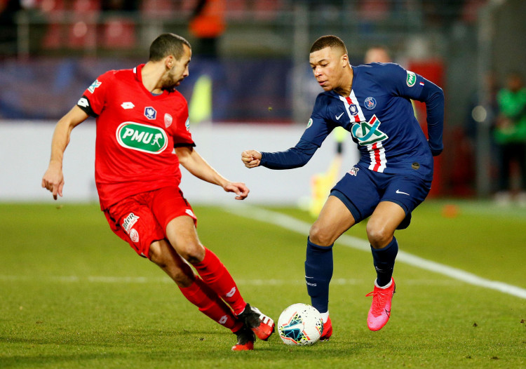 French Cup - Quarter-Final - Dijon v Paris St Germain