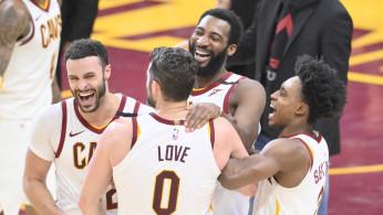 NBA: Miami Heat at Cleveland Cavaliers
