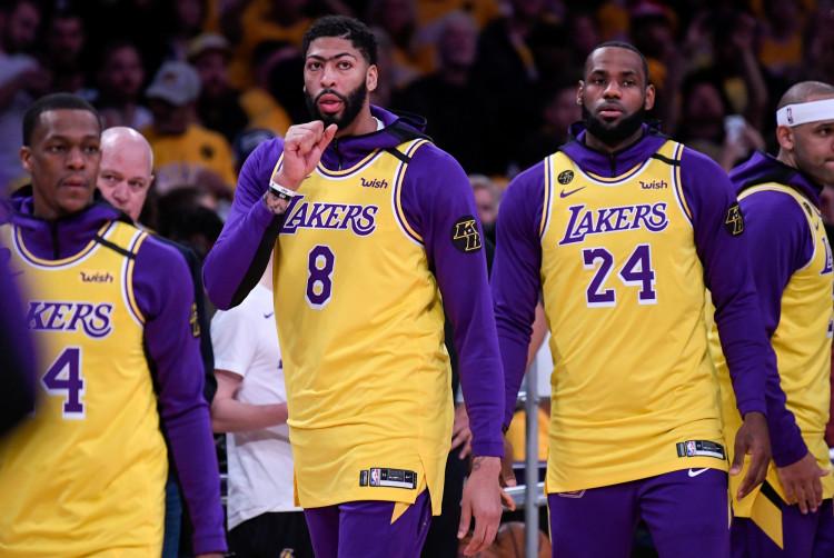 NBA: Portland Trail Blazers at Los Angeles Lakers