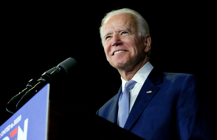 Democratic U.S. presidential candidate and former Vice President Joe Biden