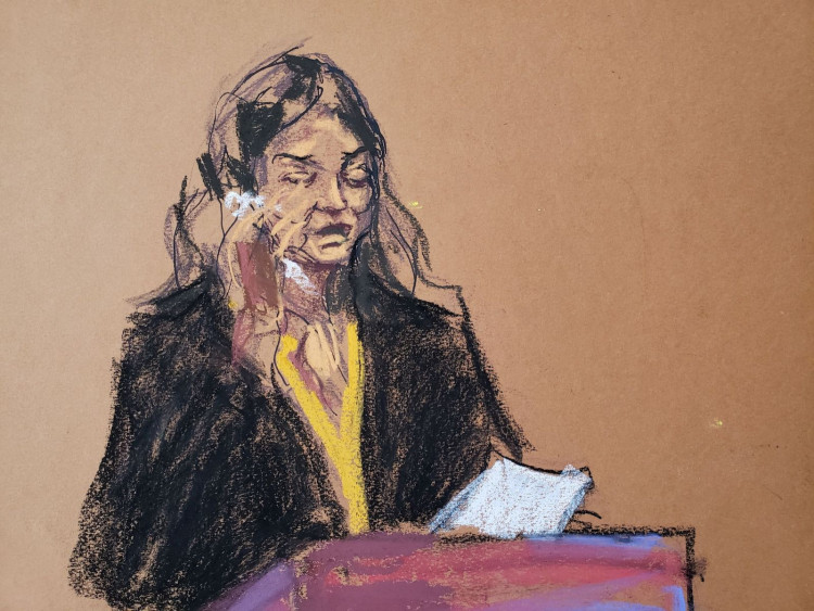 Mimi Haleyi gives a victim impact statement during the sentencing following Harvey Weinstein's conviction on sexual assault and rape charges