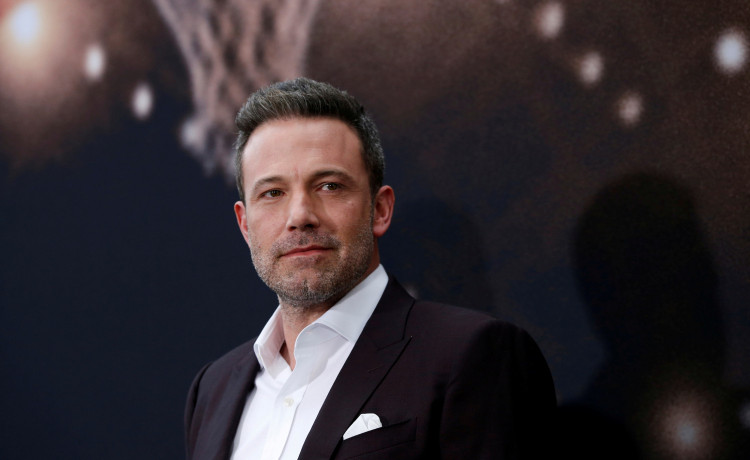 """FILE PHOTO: Cast member Ben Affleck poses at the premiere for the film """"The Way Back"""" in Los Angeles, California, U.S., March 1, 2020. REUTERS/Mario Anzuoni/File Photo"""