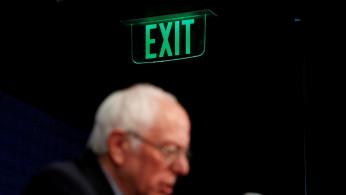 U.S. Democratic presidential candidate Senator Bernie Sanders