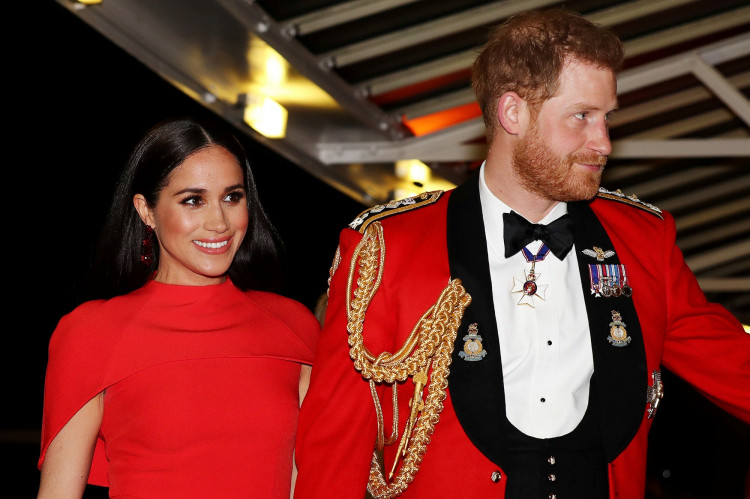 FILE PHOTO: The Duke and Duchess of Sussex attend The Mountbatten Festival of Music in London