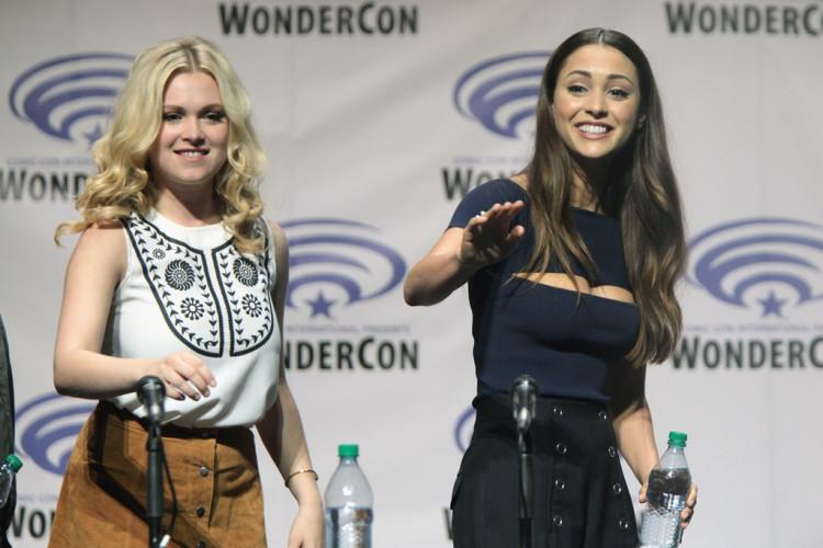 Eliza Taylor & Lindsey Morgan