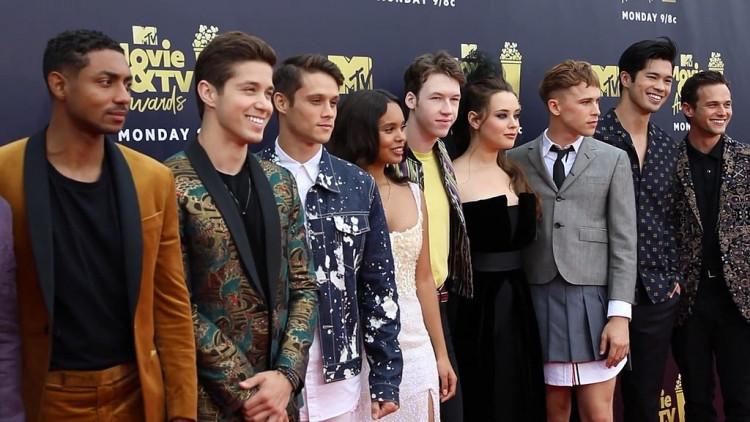 13 Reason Why cast at MTV Awards