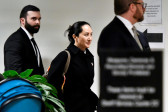 FILE PHOTO: Huawei Chief Financial Officer Meng Wanzhou leaves B.C. Supreme Court following her extradition hearing in Vancouver