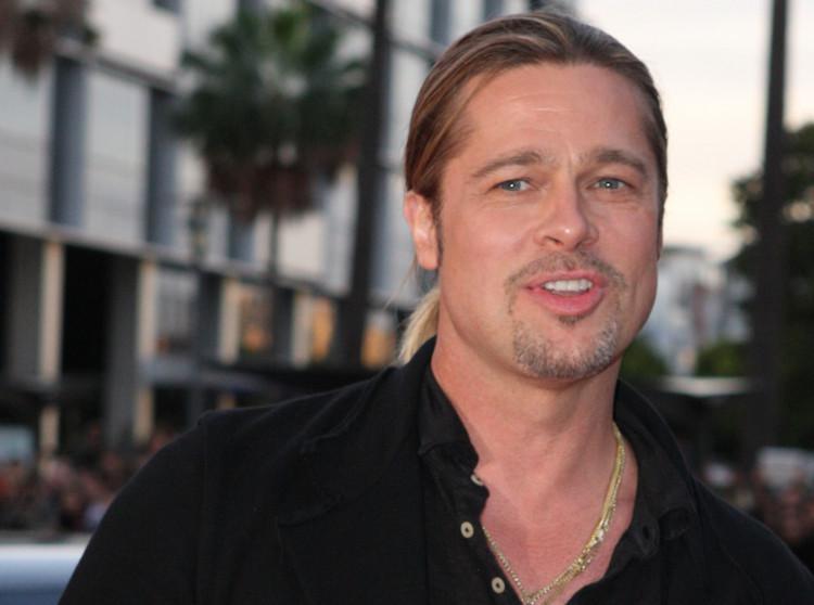 Brad Pitt's allegedly having long-distance romance with Australian reporter Renee Bargh. Photo by Eva Rinaldi/Flickr/CC BY-SA 2.0