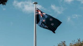 New Zealand flag.