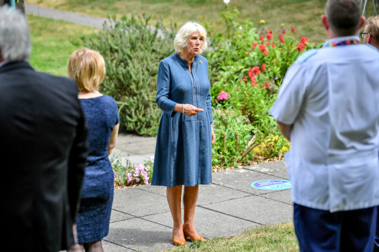 Prince of Wales and the Duchess of Cornwall visit Gloucestershire Royal Hospital
