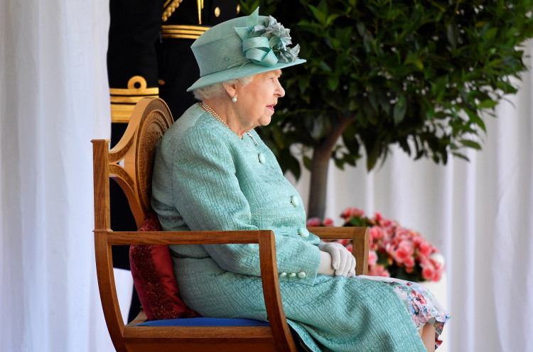 Britain's Queen Elizabeth marks her official birthday in Windsor