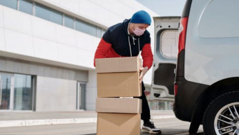 Delivery services, one of the businesses that are most in demand during this pandemic.