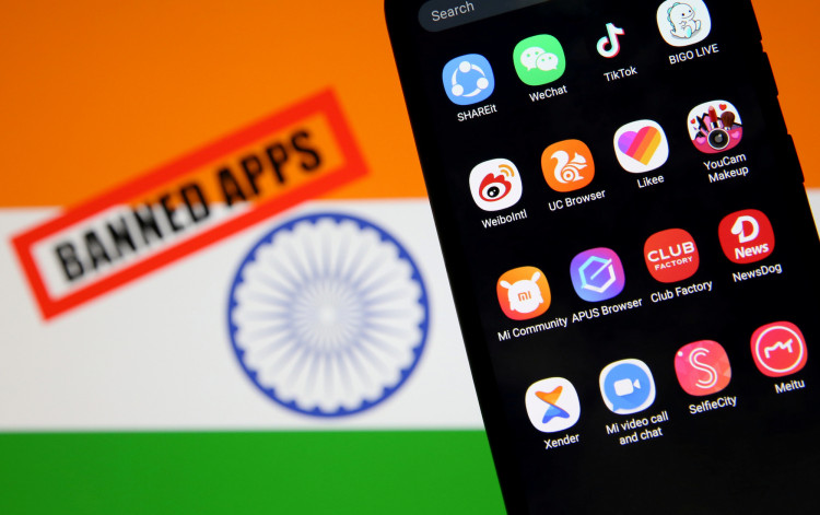 India banned app