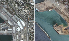A combination of satellite images shows