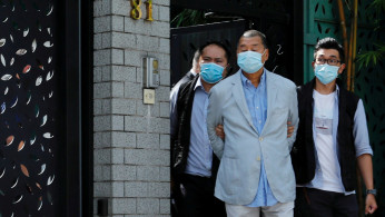 Media mogul Jimmy Lai Chee-ying, founder of Apple Daily is detained