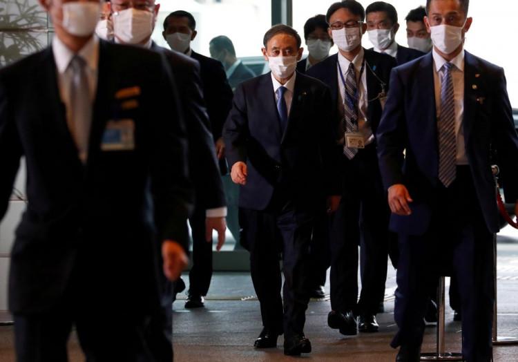Japan's Suga new PM