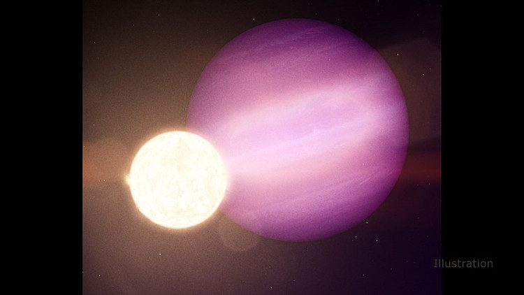 Exoplanet Orbting White Dwarf Star WD1856+534