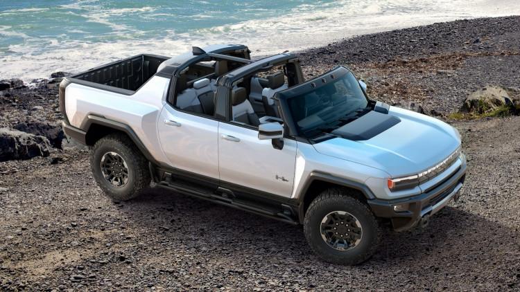 GMC: All-Electric Hummer EV Supertruck