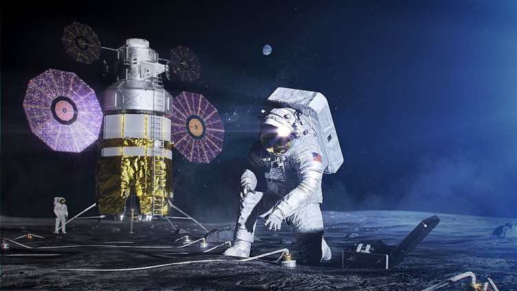 NASA's Artemis mission aims to return humans to the moon by 2024.