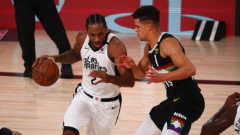 NBA: Los Angeles Clippers shooting guard Kawhi Leonard