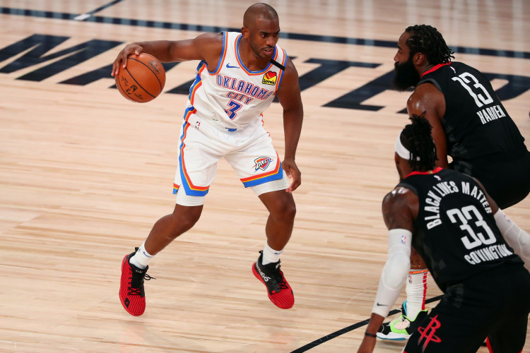 NBA: Oklahoma City Thunder point guard Chris Paul