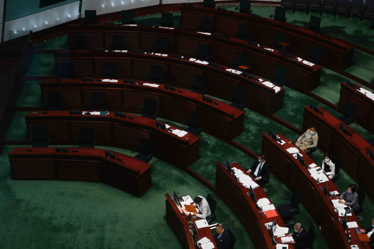 Empty LegCo Seats