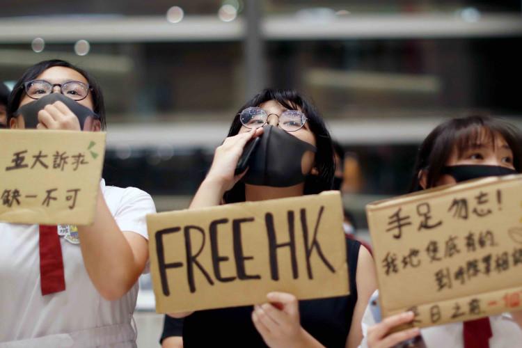 Hong Kong Activists Remain Imprisoned