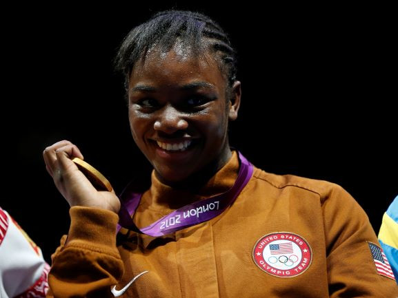 Claressa Shields of the U.S.
