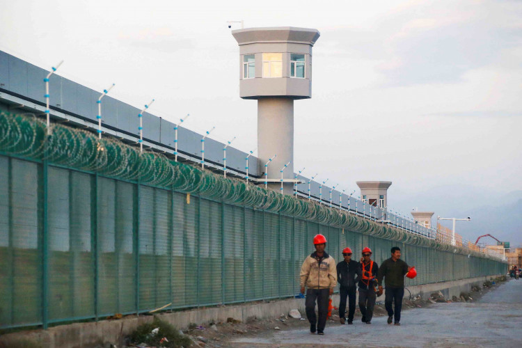 Vocational Centre Workers in Xinjiang