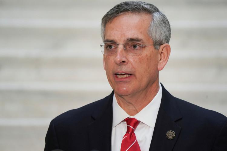 Georgia's Secretary of State Brad Raffensperger