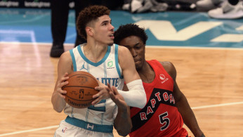 NBA: Toronto Raptors at Charlotte Hornets