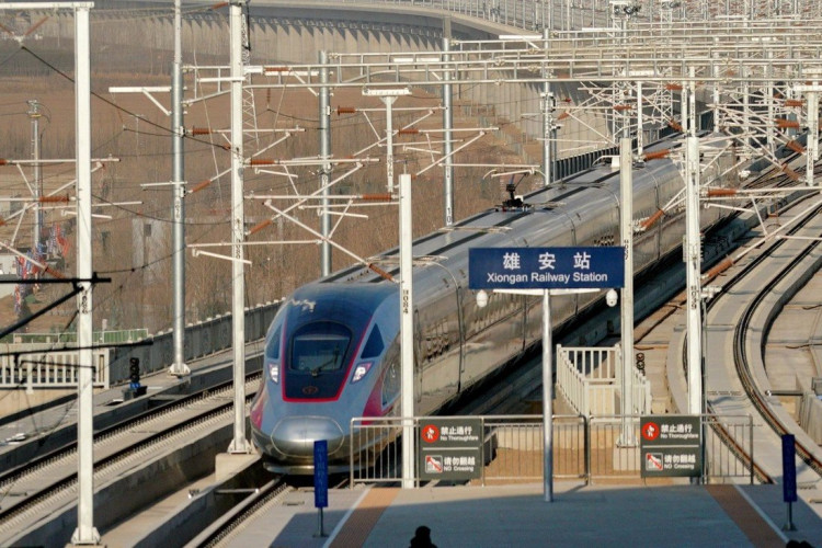 Xiong'an Railway Station