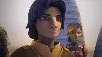Ezra Bridger and Sabine Wren in 'Star Wars Rebels'