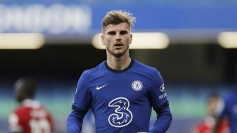 Soccer Football - Premier League - Chelsea v Liverpool - Chelsea's Timo Werner